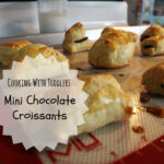Mini Chocolate Croissants
