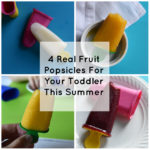 4 Real Fruit Popsicles