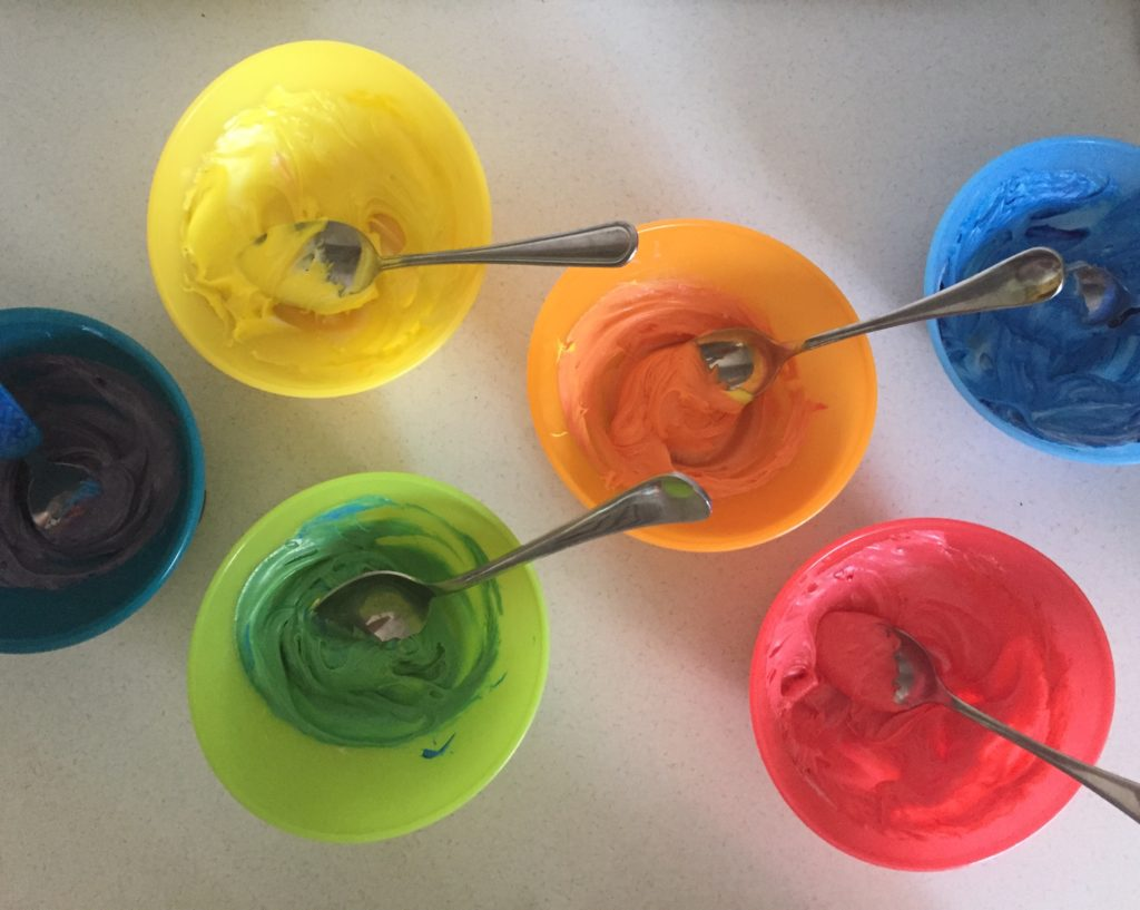 Cookie Color Mixing - Toddler Test Kitchen
