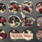 Mini Muffin Pancakes