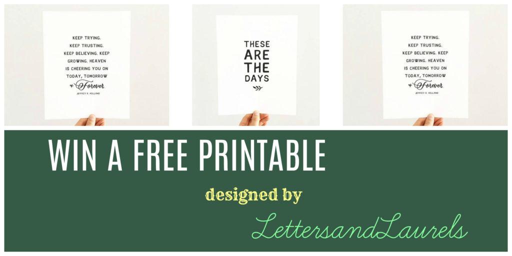Win A Free Printable Toddler Test Kitchen