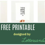 Win a Free Printable!