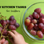 Cooking with Toddlers: 20+ Easy Kitchen Tasks