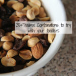20+ Toddler Trail Mix Ideas: Back to School Snacks